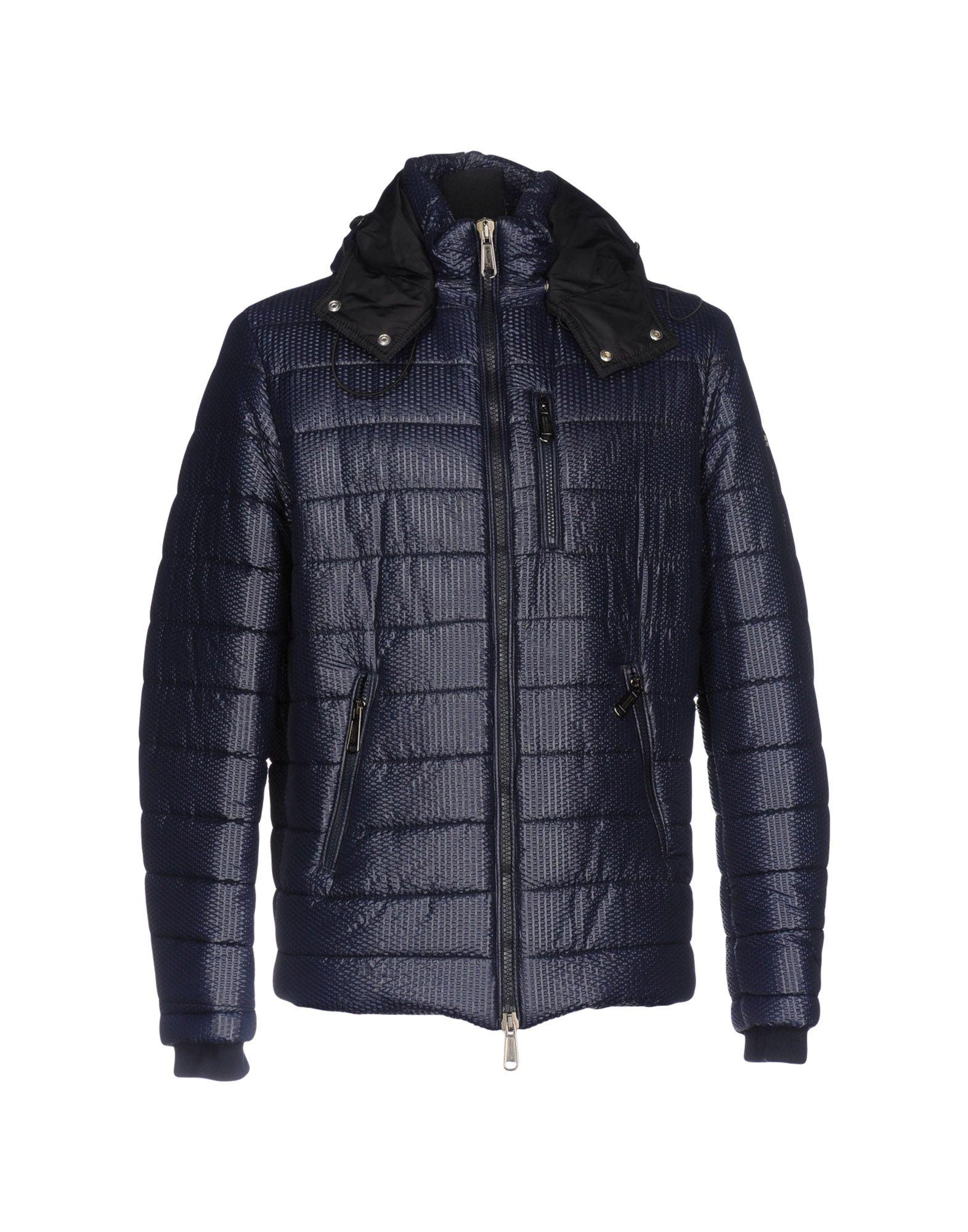 ALESSANDRO DELL´ACQUA Herren Jacke Farbe Dunkelblau Größe 2