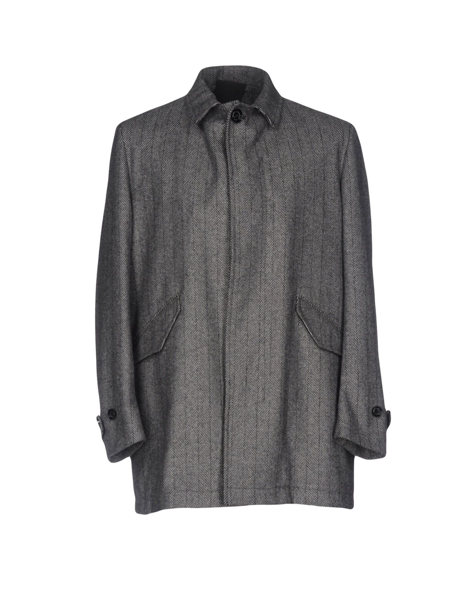 ALESSANDRO DELL´ACQUA Herren Mantel Farbe Grau Größe 4 - broschei