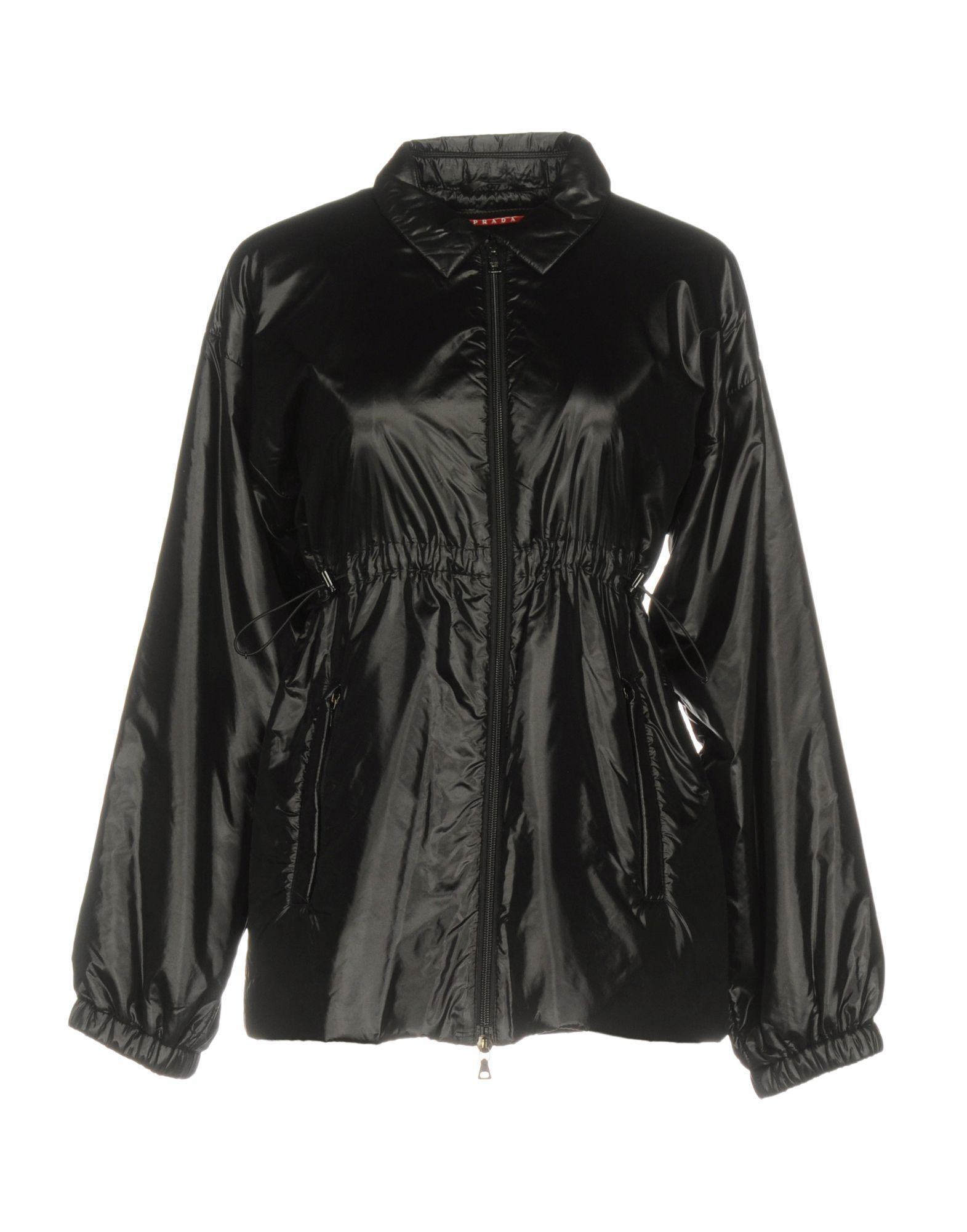 PRADA SPORT Damen Jacke Farbe Schwarz Größe 3