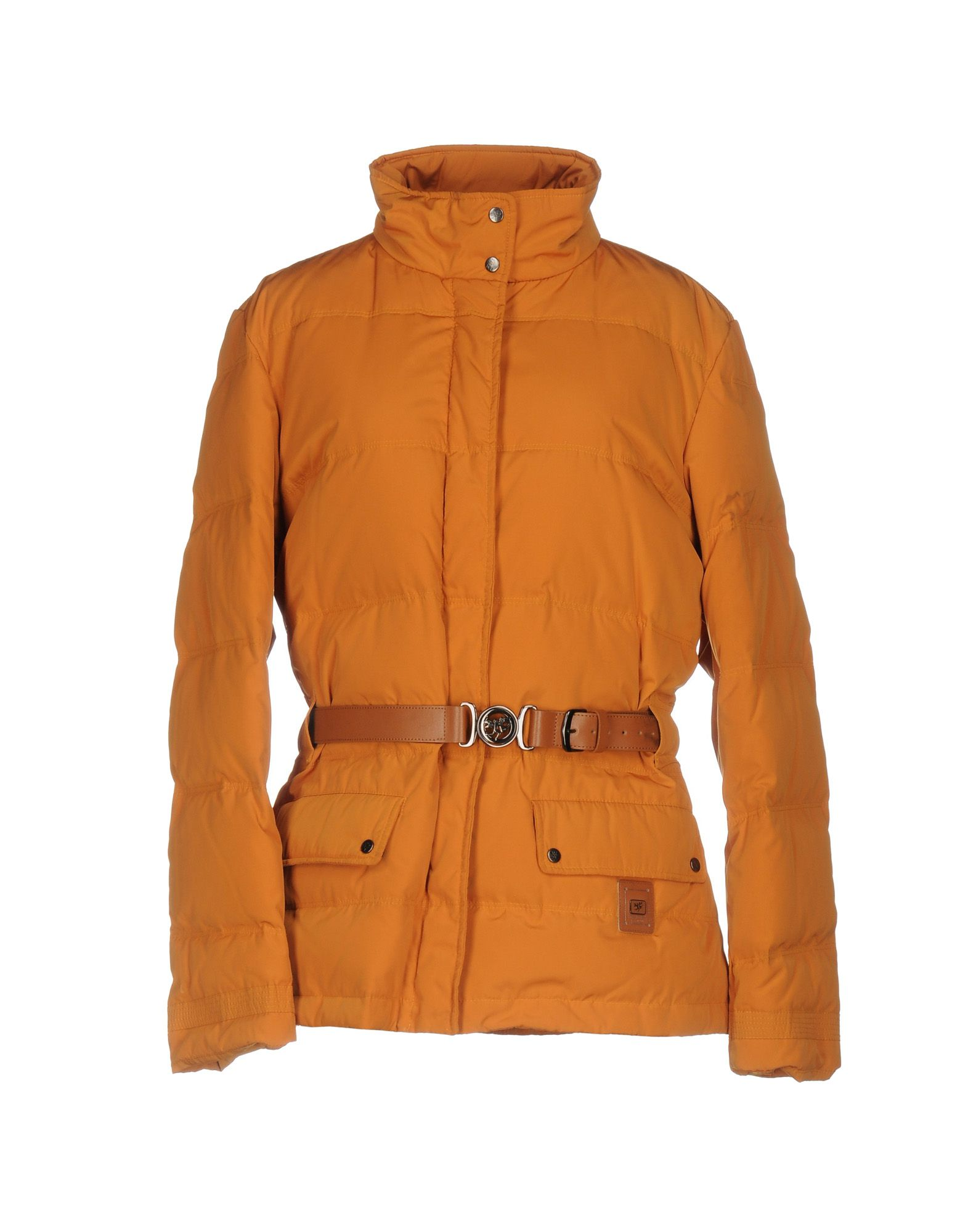 PIERO GUIDI Damen Steppjacke Farbe Orange Größe 6