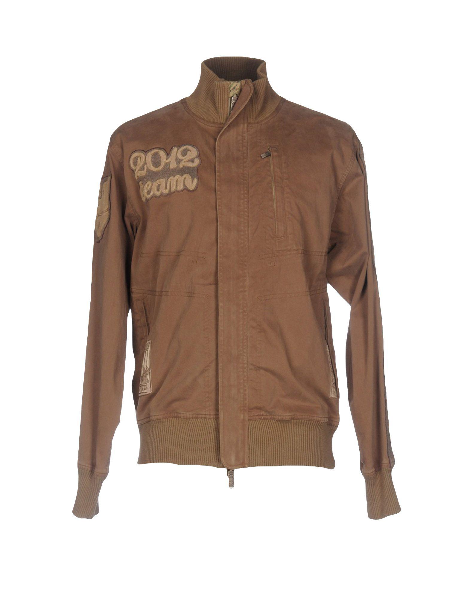 MAHARISHI Herren Jacke Farbe Khaki Größe 5