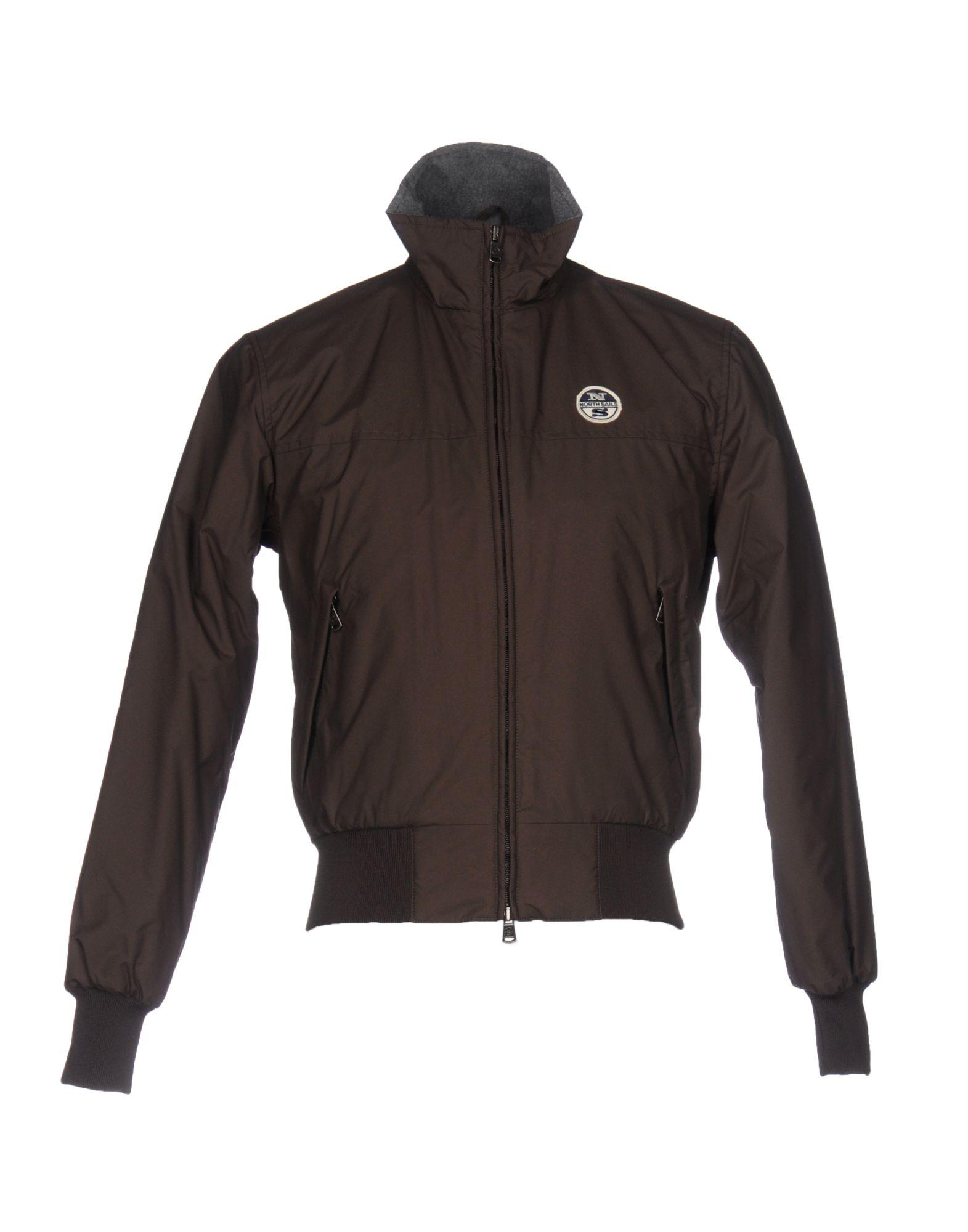 NORTH SAILS Herren Jacke Farbe Dunkelbraun Größe 3 jetztbilligerkaufen