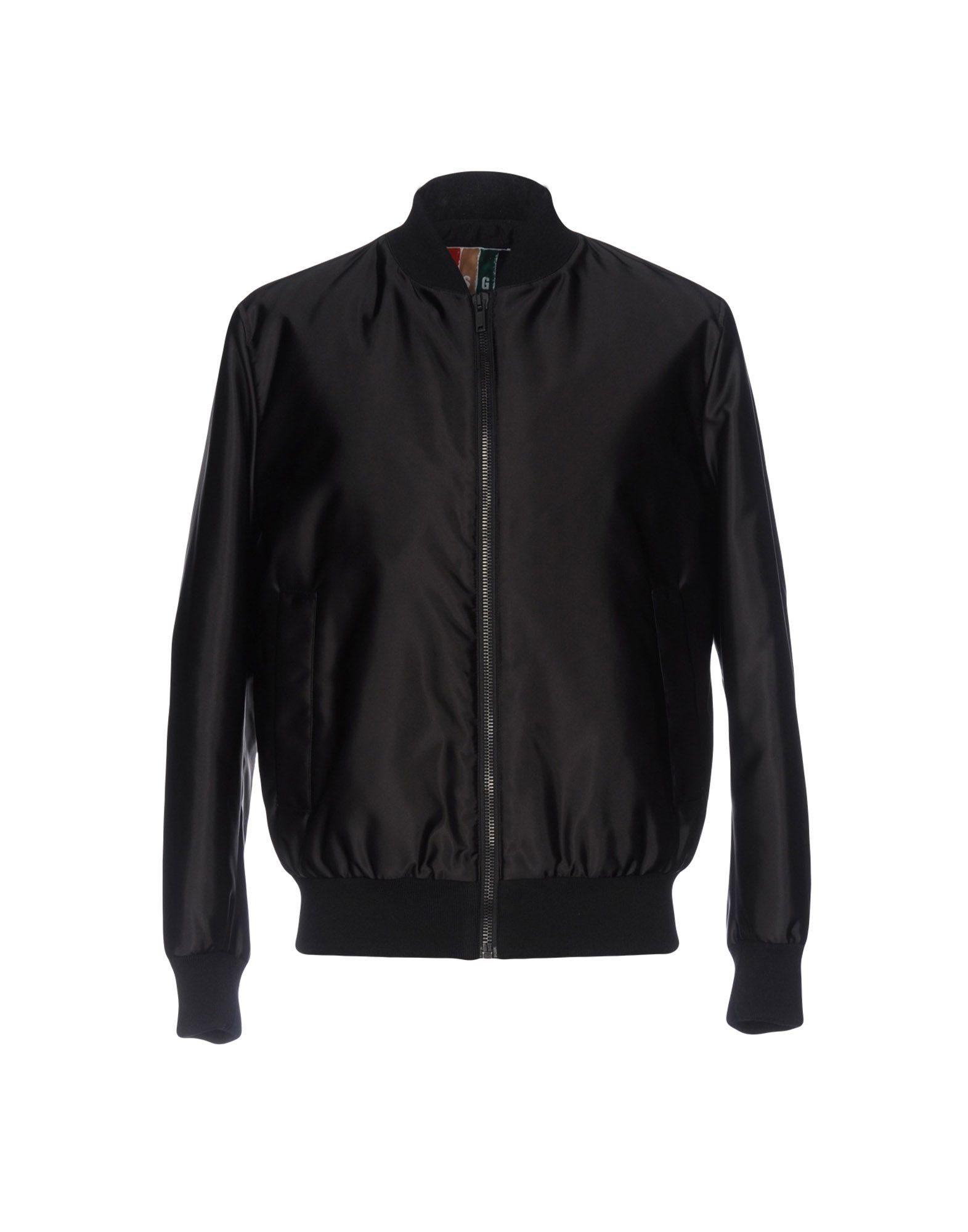 MSGM Herren Jacke Farbe Schwarz Größe 4