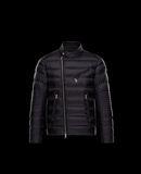 MONCLER AUBIN - Biker jackets - men