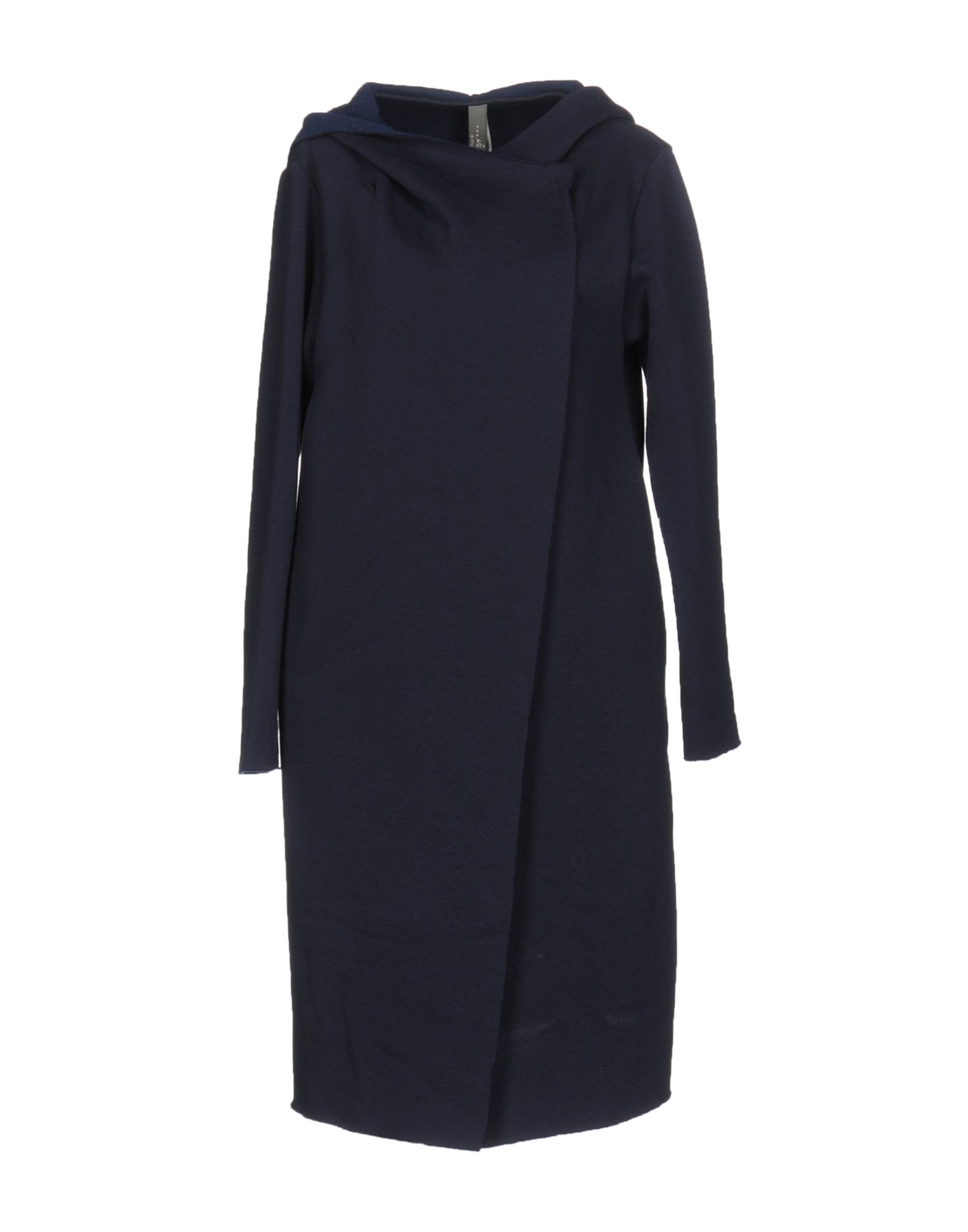 WLG BY GIORGIO BRATO Full-Length Jacket in Dark Blue