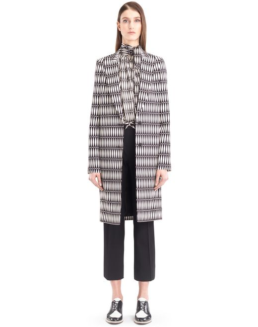 "lanvin ""bois joli"" tailored coat women"