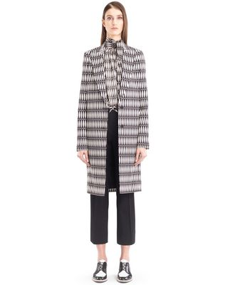 "LANVIN ""BOIS JOLI"" TAILORED COAT Outerwear D f"