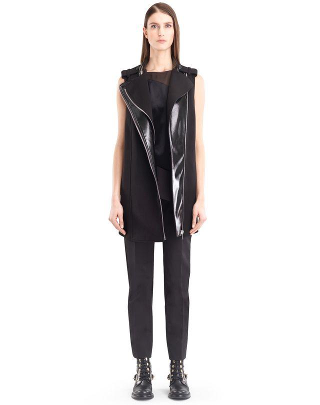 LANVIN MIKADO CREPE COAT Outerwear D a