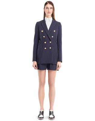 LANVIN PINSTRIPE GABARDINE JACKET Jacket D f