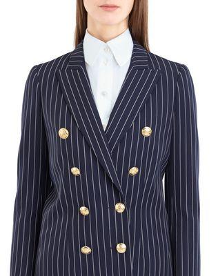 LANVIN PINSTRIPE GABARDINE JACKET Jacket D r