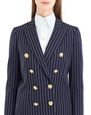 LANVIN Jacket Woman PINSTRIPE GABARDINE JACKET f