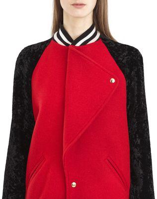 LANVIN WOOL CLOTH TEDDY JACKET Jacket D a