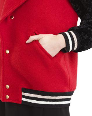 LANVIN WOOL CLOTH TEDDY JACKET Jacket D r