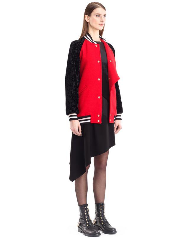 LANVIN WOOL CLOTH TEDDY JACKET Jacket D d