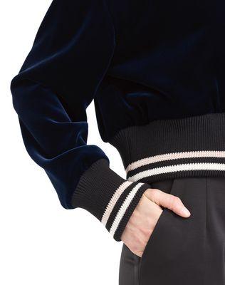 LANVIN FLOWY VELVET JACKET Jacket D a