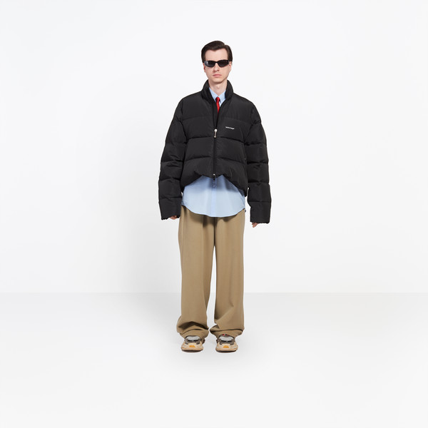 C Shape Puffer Jacket