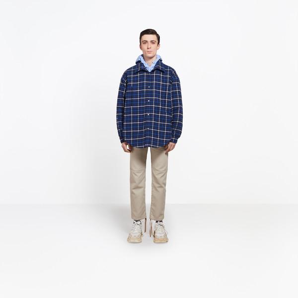 Peacoat Overshirt