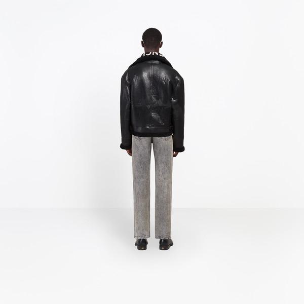 BALENCIAGA Jacket U Shearling Bombardier h