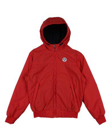 NORTH SAILS Jungen Jacke Rot Größe 10 100% Polyamid