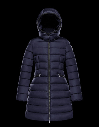 CHARPAL Dark blue Category Coats Woman