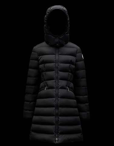 CHARPAL Black Category Coats Woman