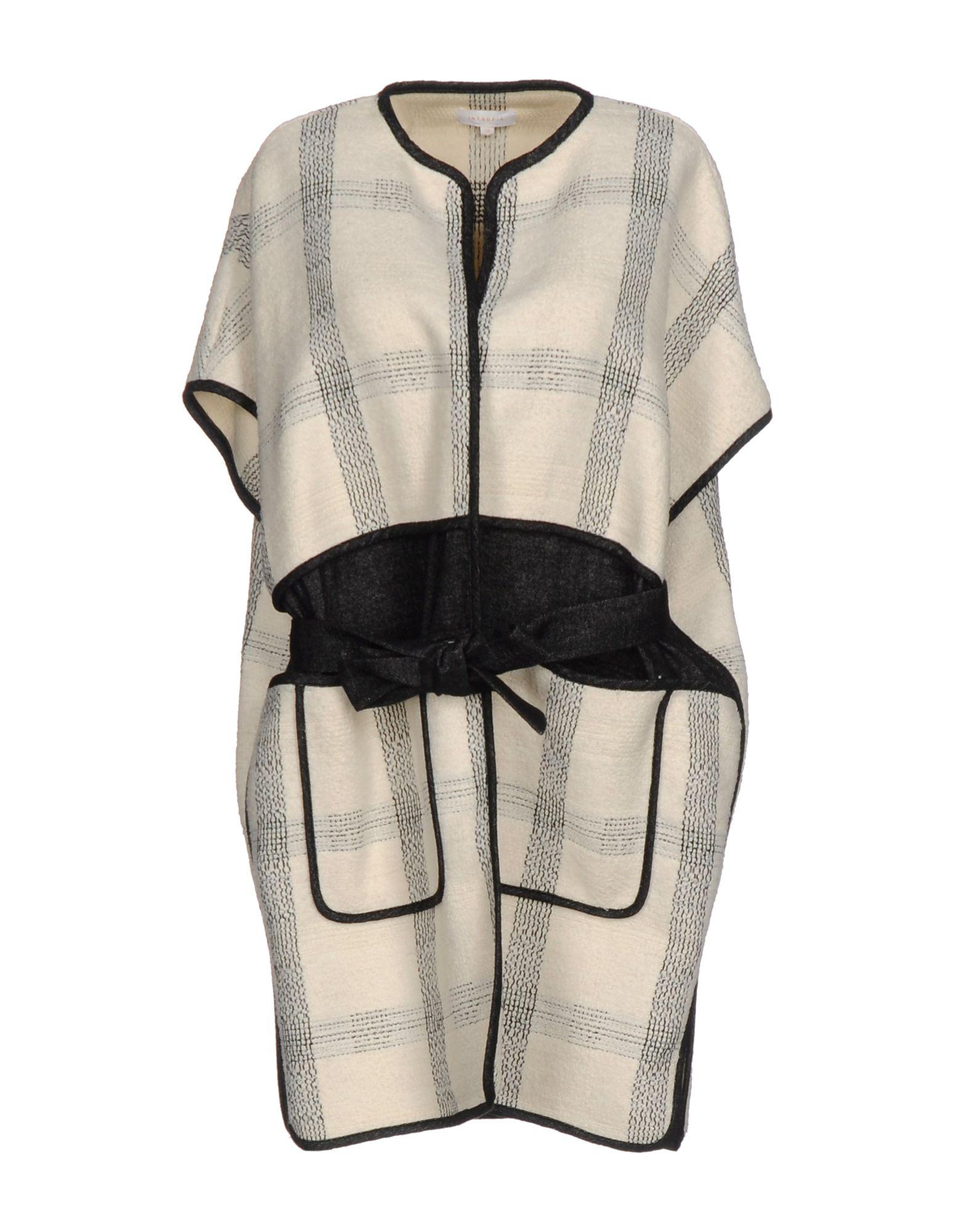 INTROPIA Легкое пальто пальто naumi пальто короткие