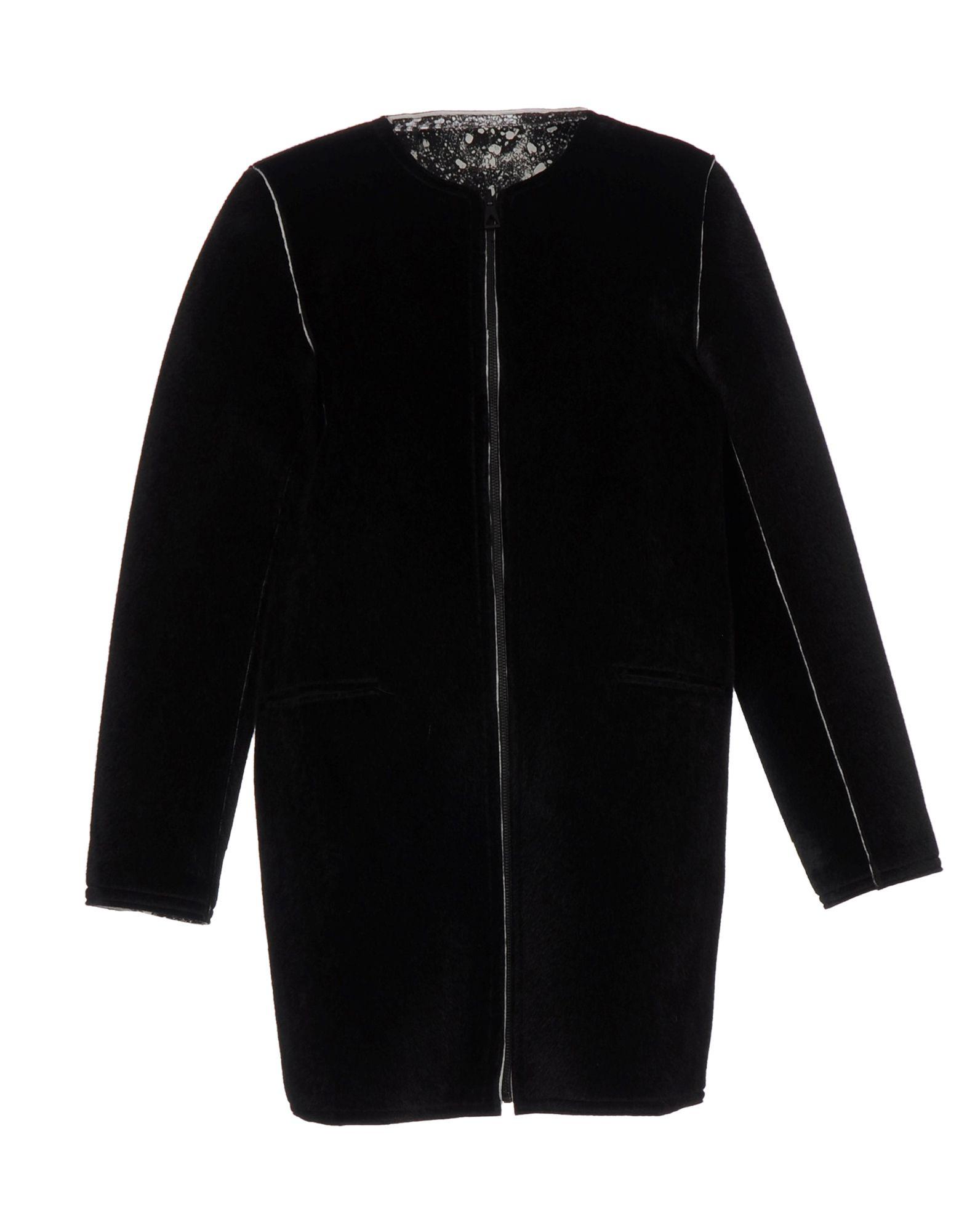 ELEVEN PARIS Пальто двубортное пальто от eleven paris прямого кроя