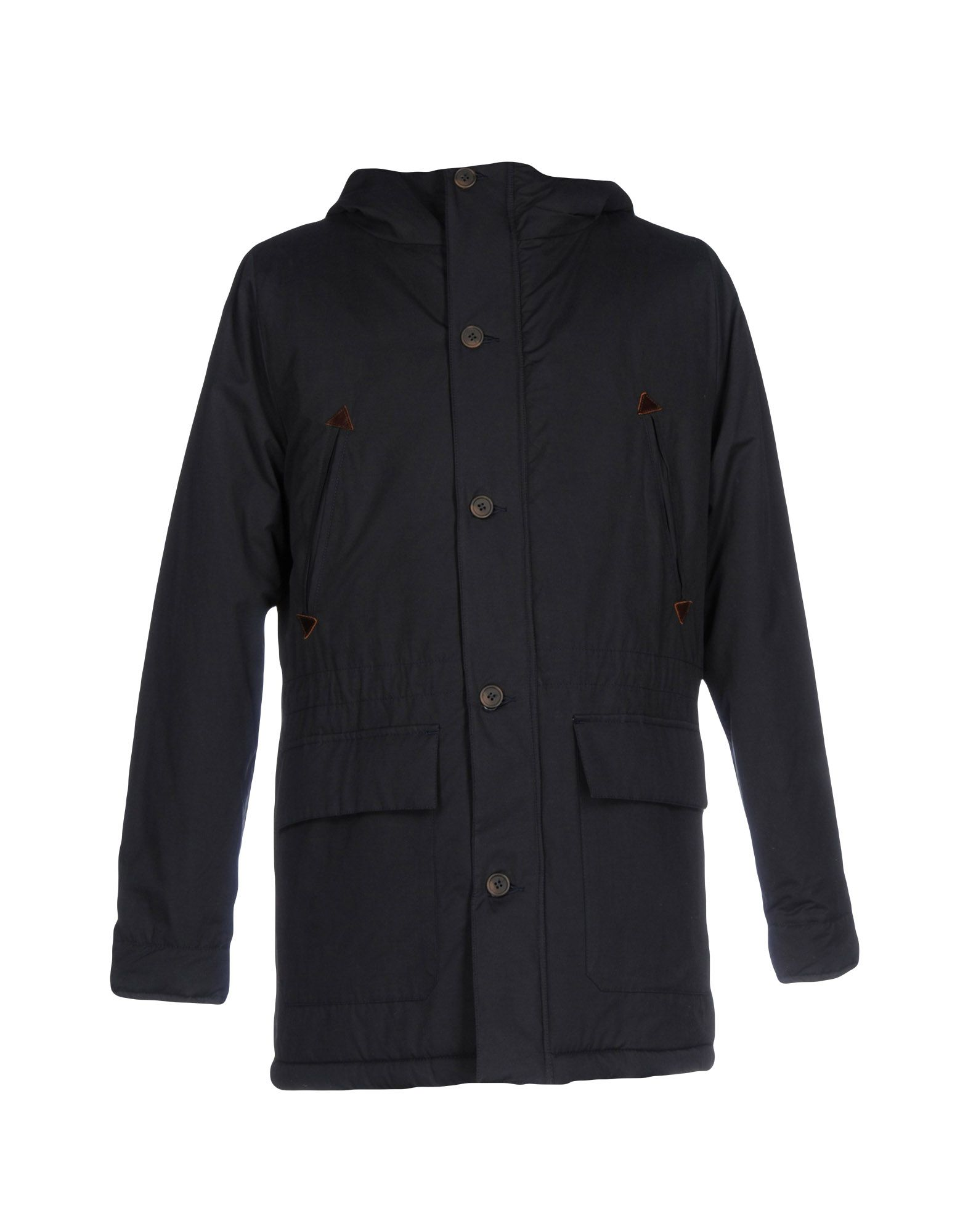 CUISSE DE GRENOUILLE Parka in Dark Blue
