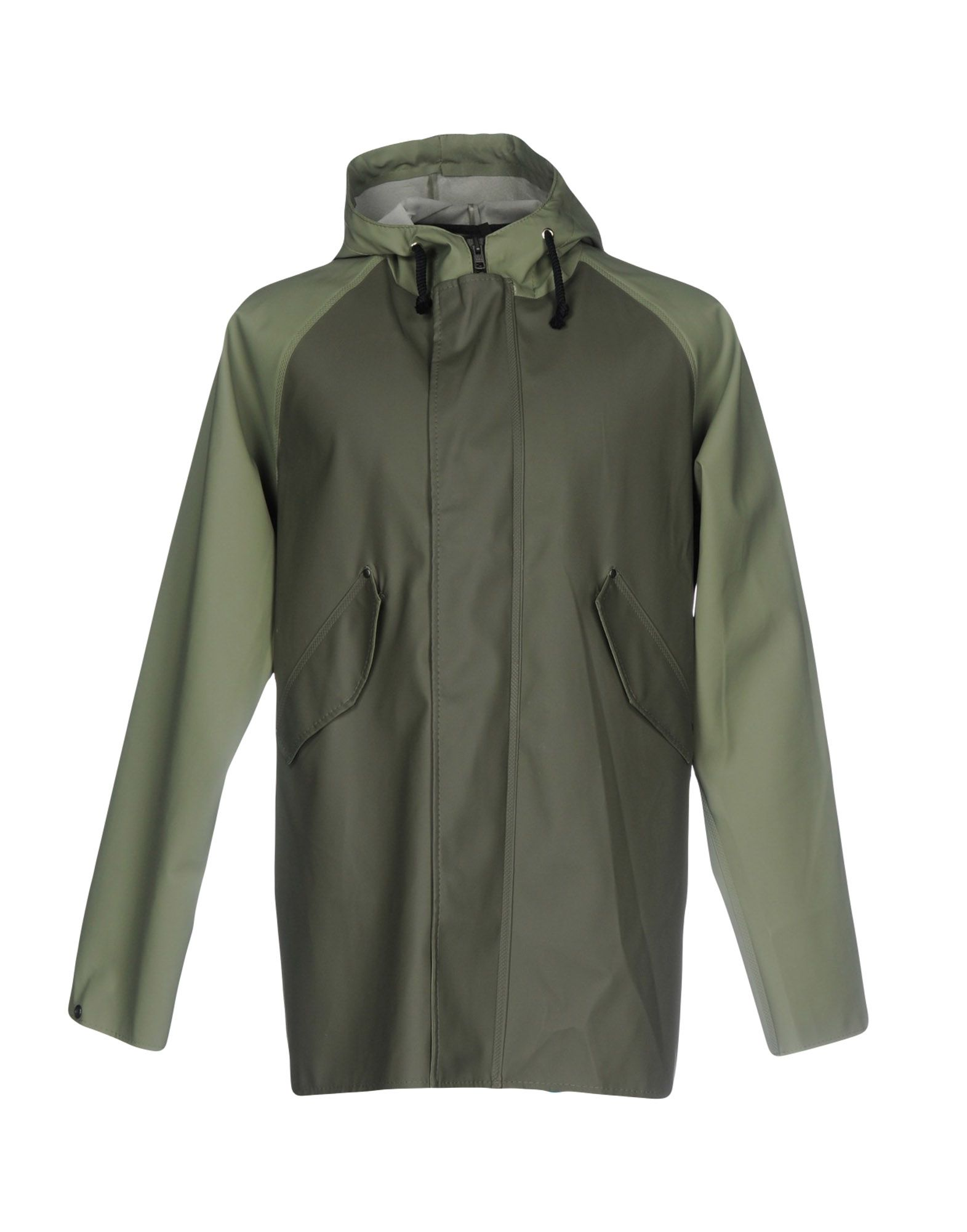 ELKA Full-Length Jacket in Military Green