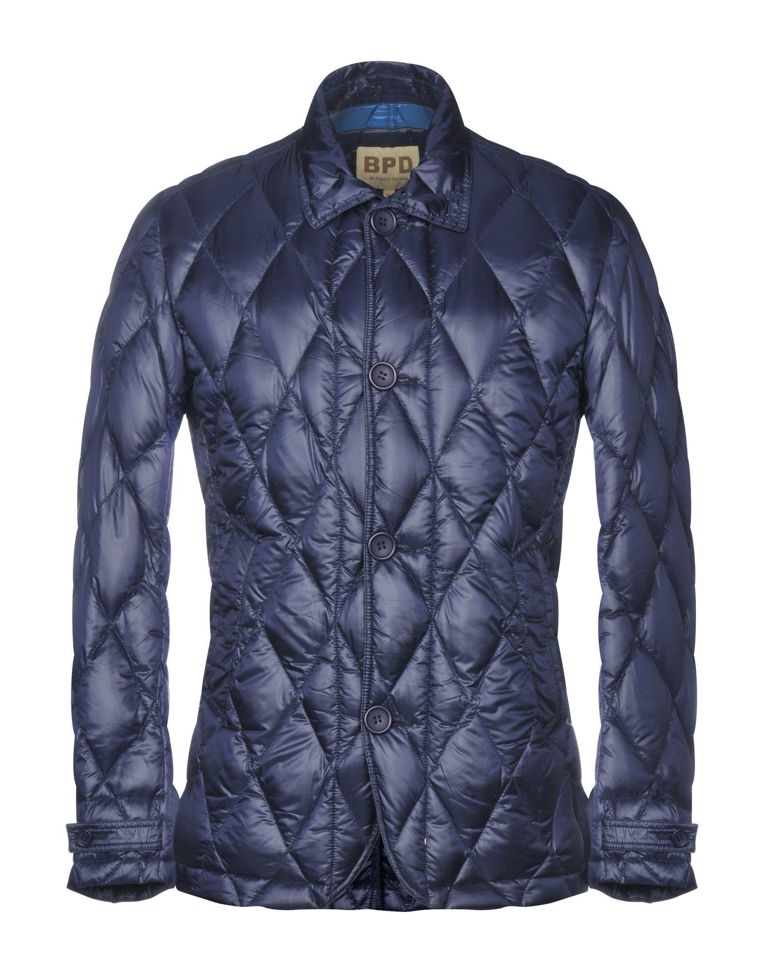 《送料無料》BPD BE PROUD OF THIS DRESS メンズ ダウンジャケット ブルー M ナイロン 100%