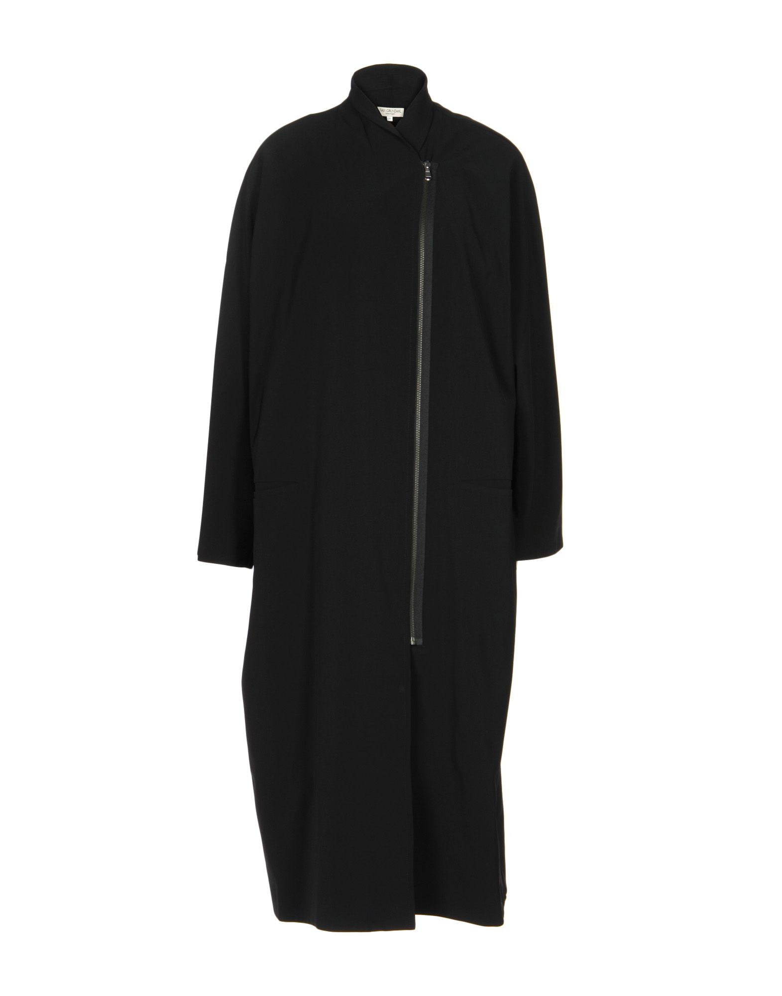 IVAN GRUNDAHL Coat in Black