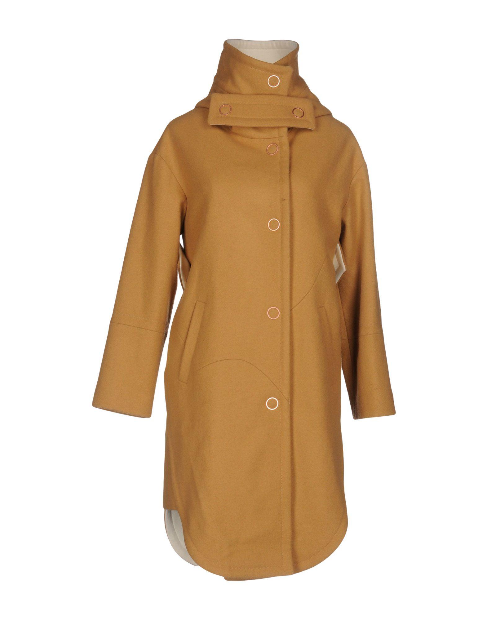 где купить  EUDON CHOI Пальто  по лучшей цене