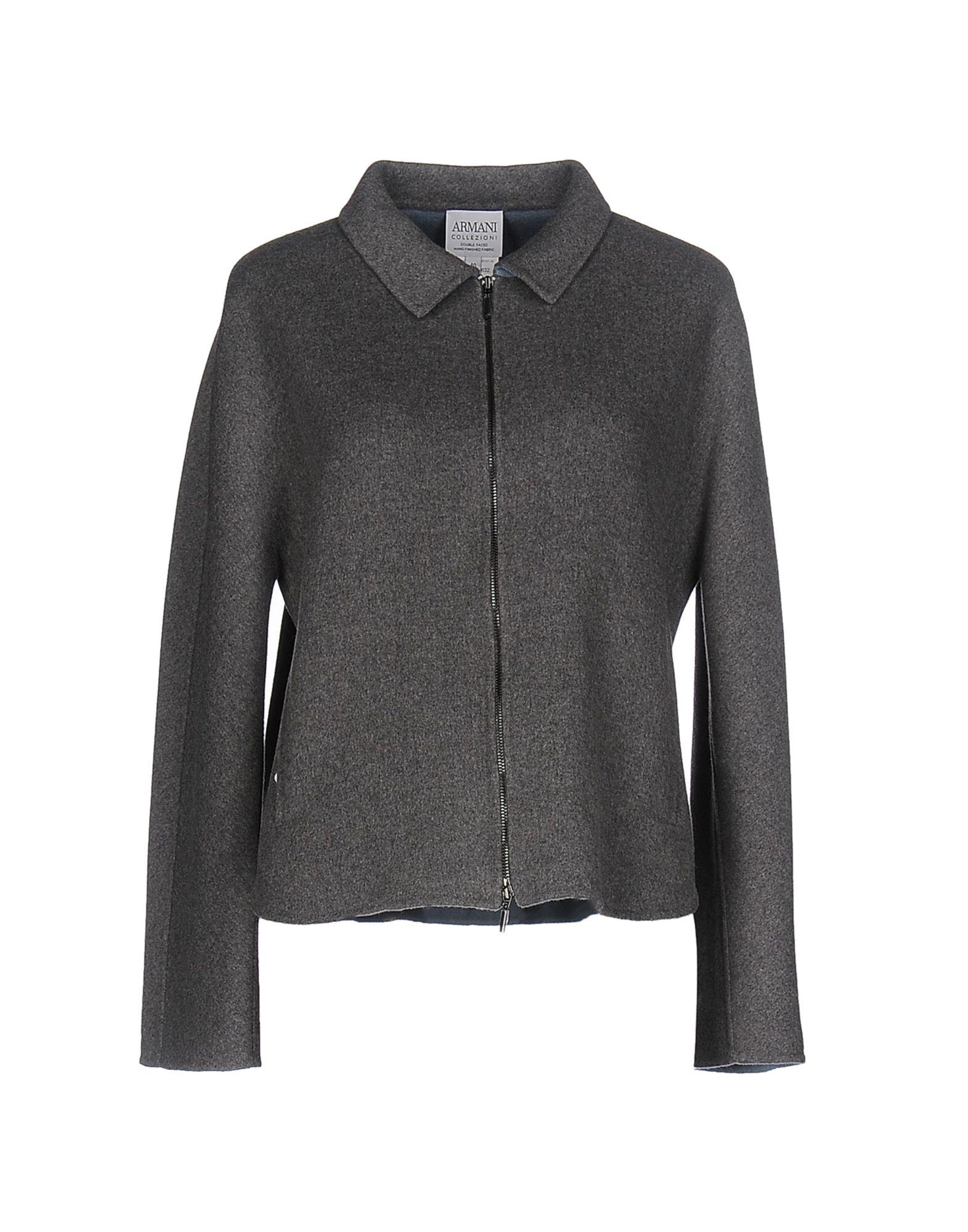 где купить ARMANI COLLEZIONI Пальто по лучшей цене