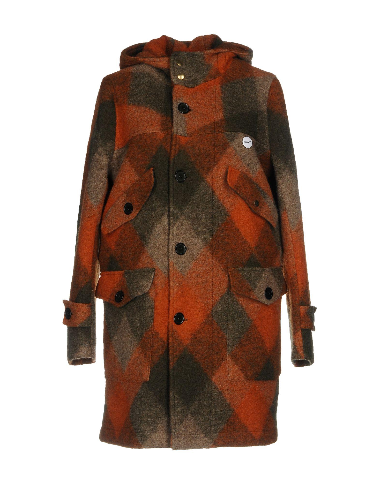 EQUIPE' 70 Пальто пальто из шерстяного драпа 70
