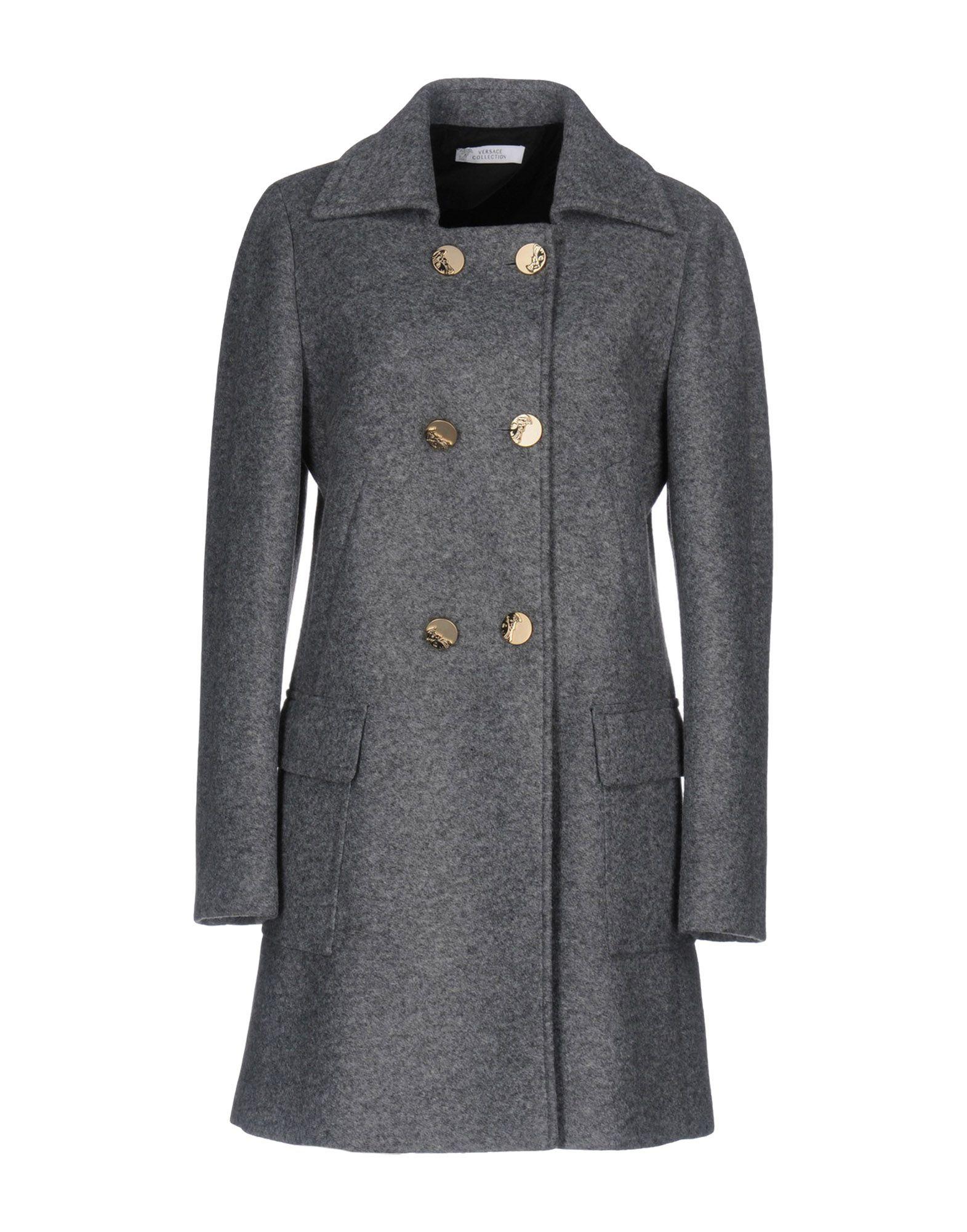 VERSACE COLLECTION Пальто цена