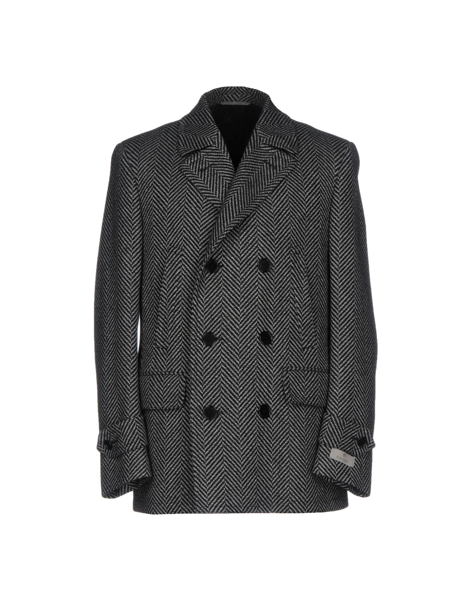 CANALI Пальто 2016 осенью дамы сукно slim шерстяные пальто в длинные пальто