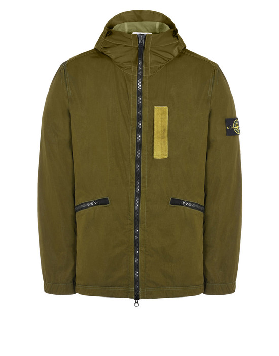 STONE ISLAND LIGHTWEIGHT JACKET Q0936 NYLON METAL FLOCK