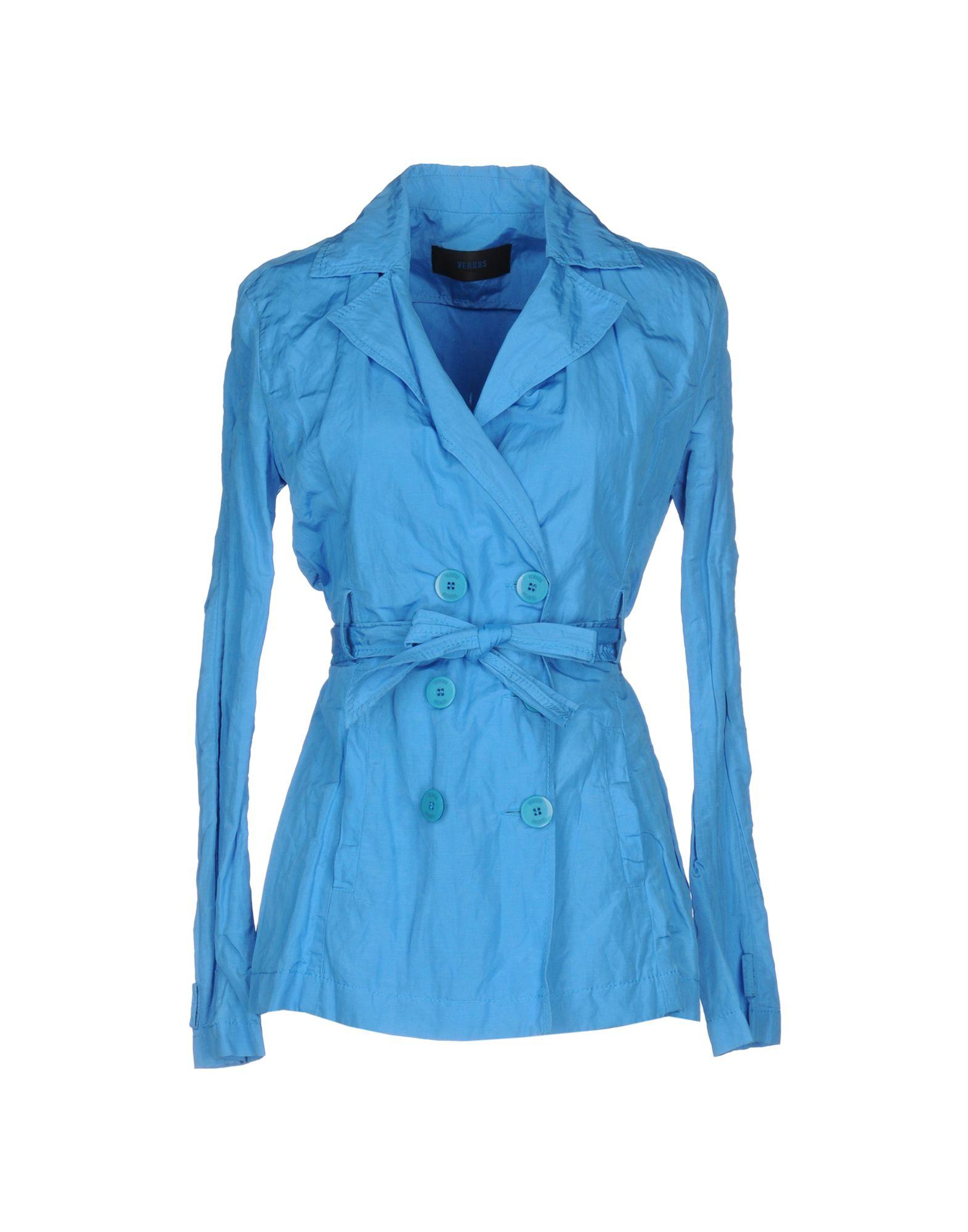 VERSUS VERSACE Легкое пальто mresale легкое пальто