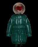 MONCLER ESCALLONIA - Long outerwear - women