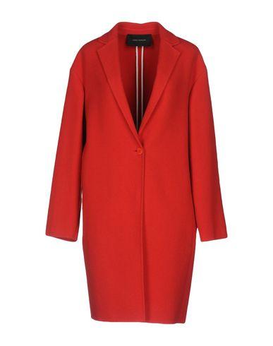 Купить Женское пальто или плащ CEDRIC CHARLIER красного цвета