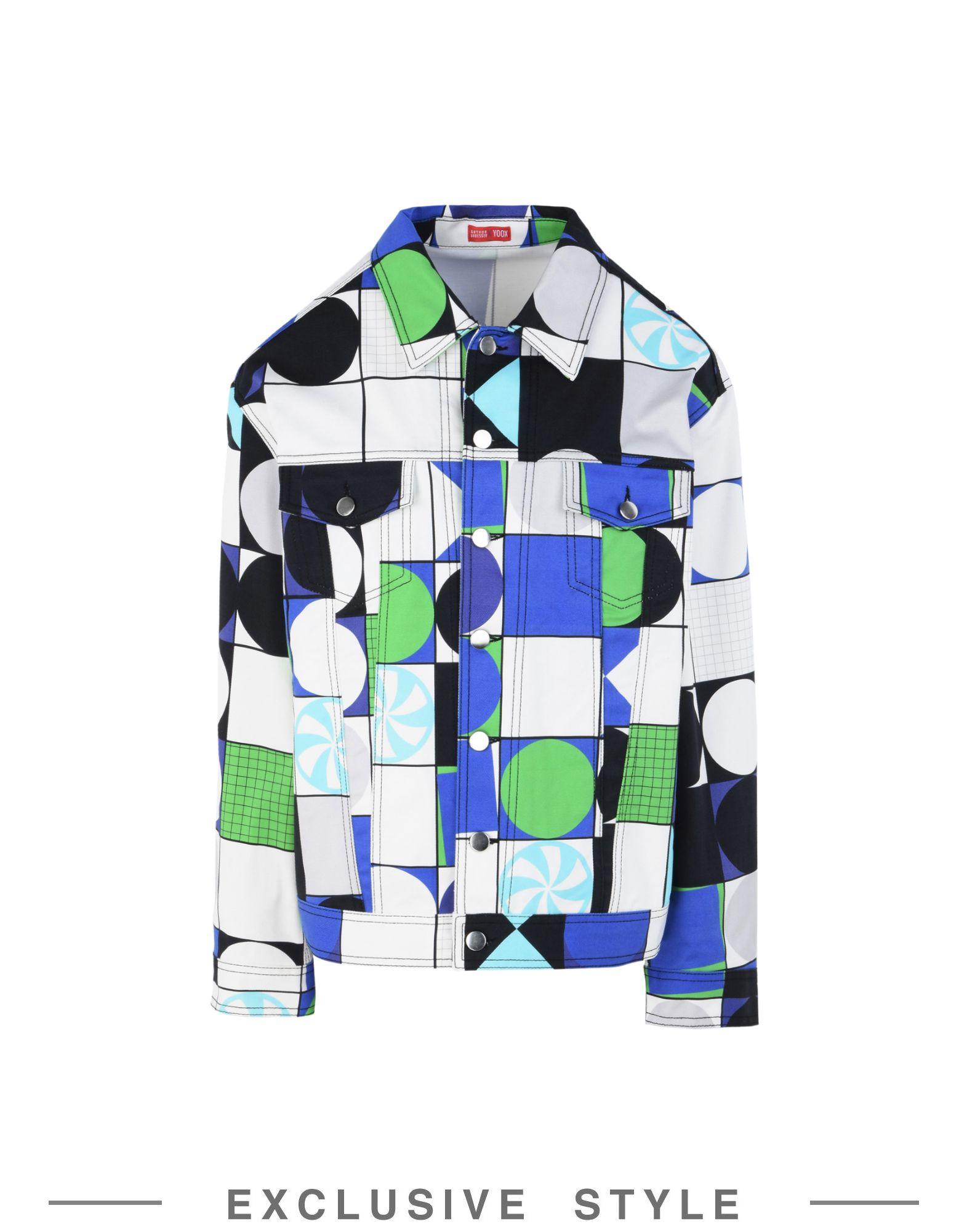 цена ARTHUR ARBESSER x YOOX Куртка онлайн в 2017 году