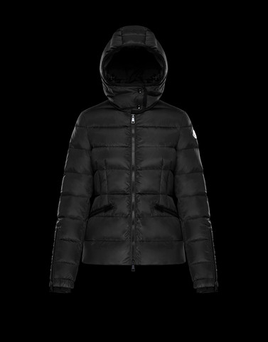 BETULA Black Short Down Jackets Woman
