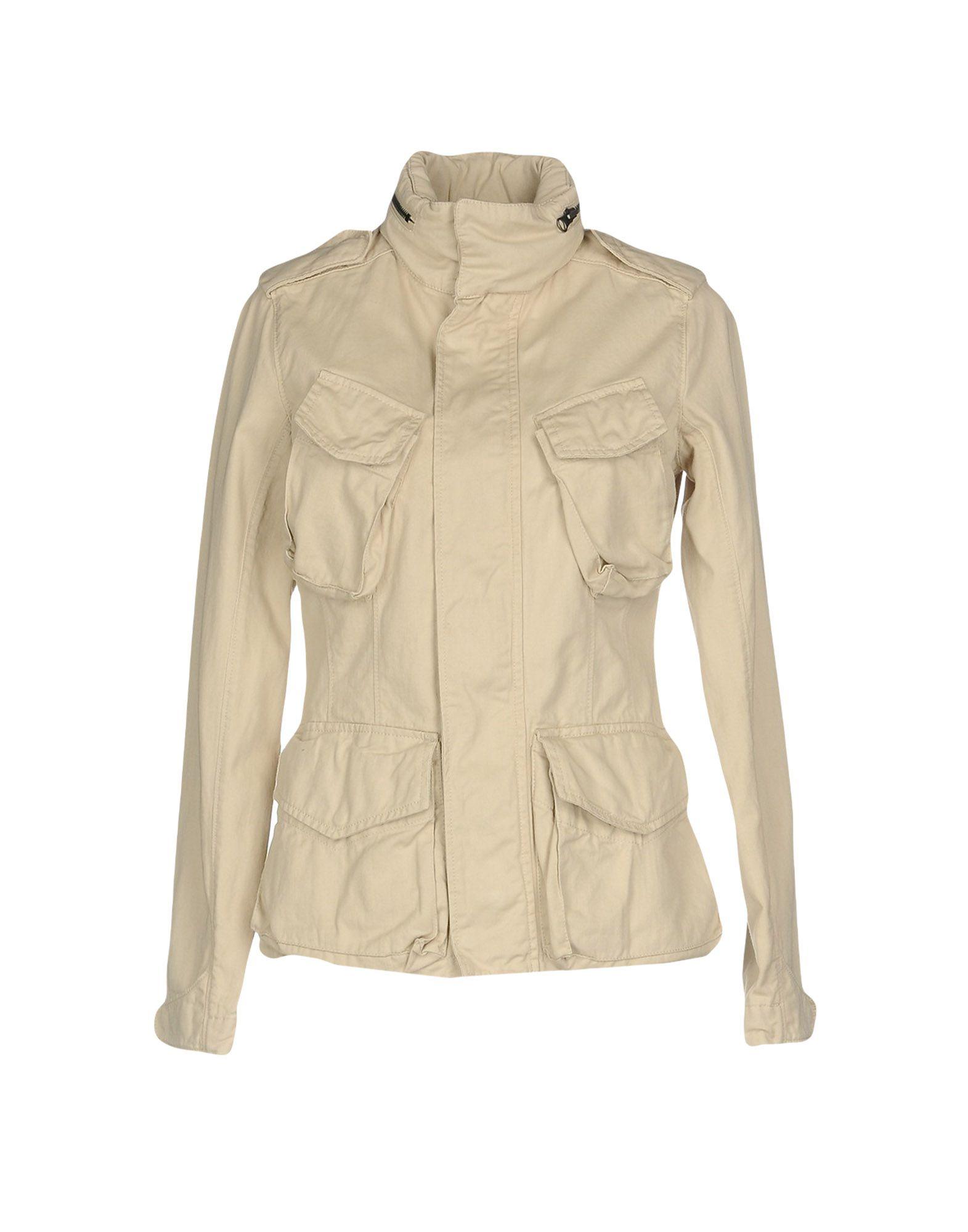 ASPESI Джинсовая верхняя одежда верхняя одежда
