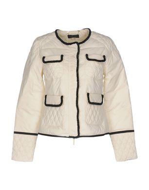 TWIN-SET Simona Barbieri Damen Jacke Farbe Elfenbein Größe 6 Sale Angebote Klein Döbbern