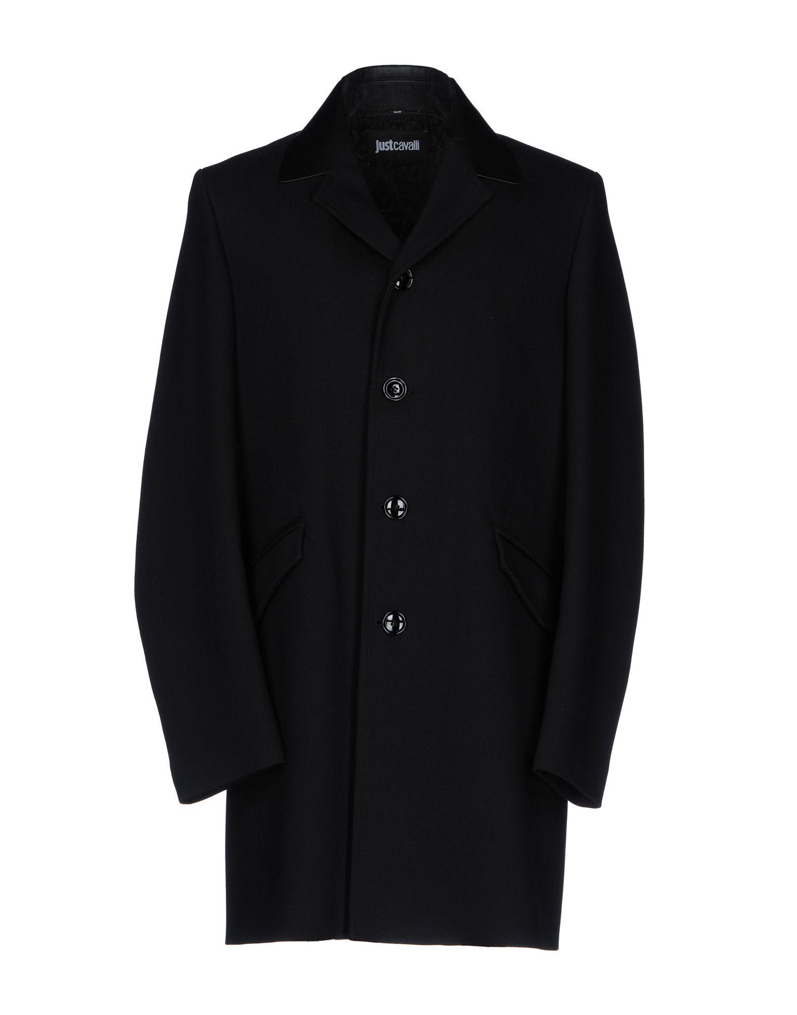 JUST CAVALLI Легкое пальто just cavalli джинсовая верхняя одежда
