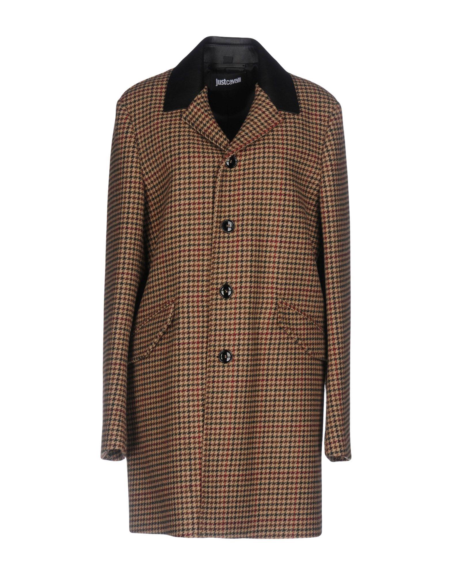 цена JUST CAVALLI Пальто онлайн в 2017 году