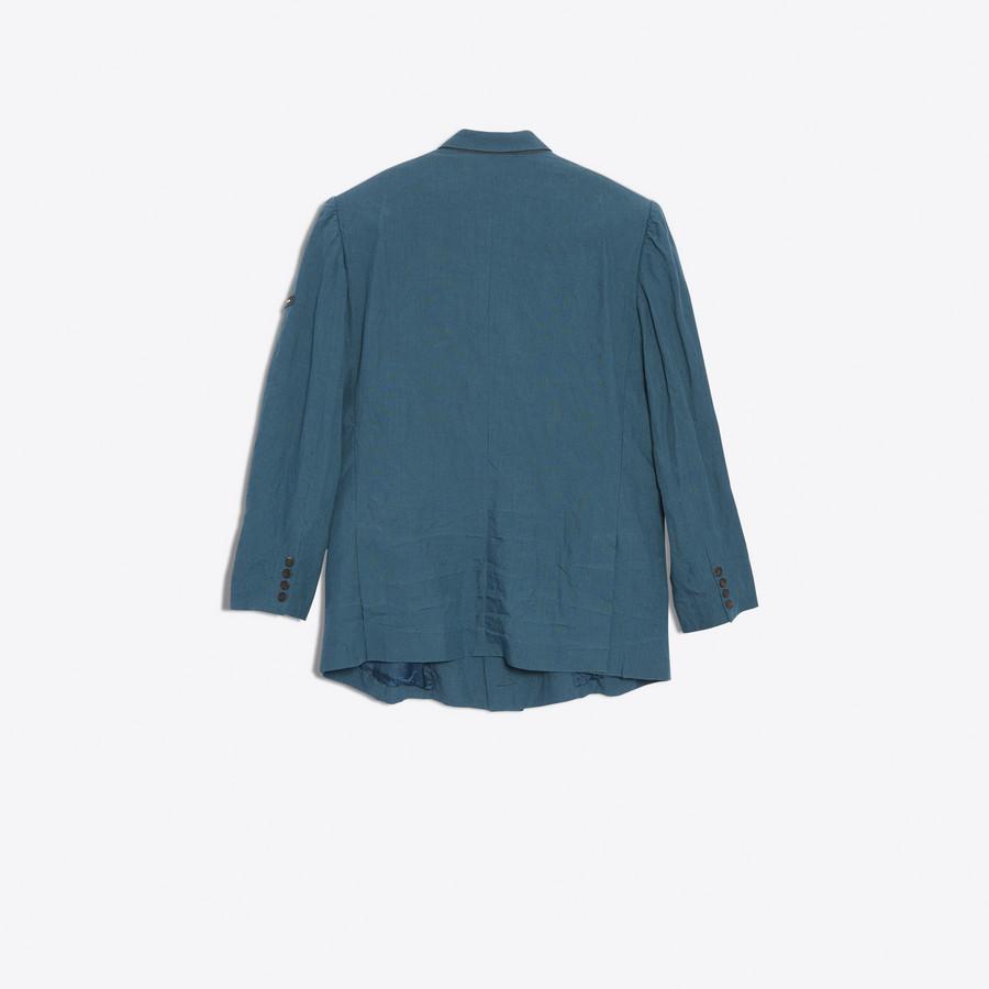 BALENCIAGA Washed Double Breasted Jacket Jacket U d