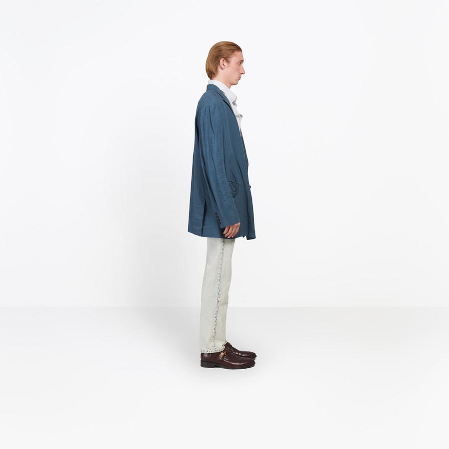 BALENCIAGA Washed Double Breasted Jacket Jacket Man i