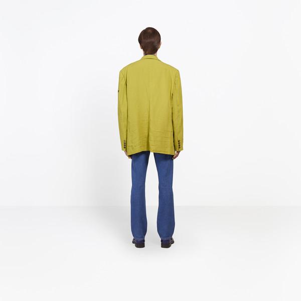 BALENCIAGA Jacket U Washed Single Breasted Jacket h