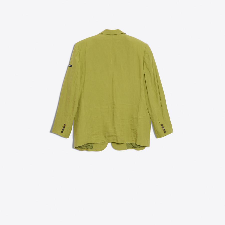 BALENCIAGA Washed Single Breasted Jacket Jacket U d